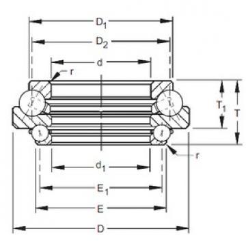 Timken 541DTVL731 angular contact ball bearings
