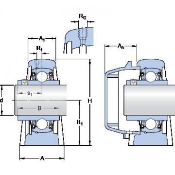 SKF SYWR 25 YTHR bearing units