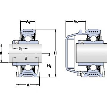 SKF SYWK 25 YTA bearing units