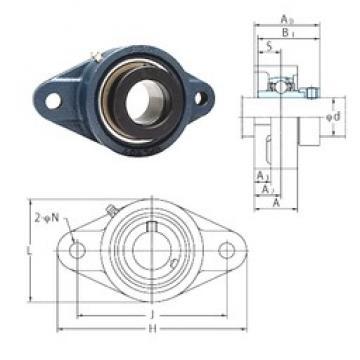 FYH NANFL205-14 bearing units
