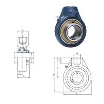 FYH UCHA201 bearing units