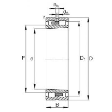 160 mm x 220 mm x 60 mm  160 mm x 220 mm x 60 mm  FAG NNU4932-S-K-M-SP cylindrical roller bearings
