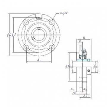 KOYO UCFC204 bearing units