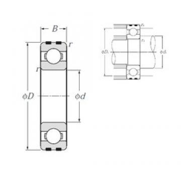 20 mm x 47 mm x 14 mm  20 mm x 47 mm x 14 mm  NTN EC-6204 deep groove ball bearings