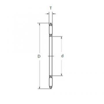 NSK FNTA-1226 needle roller bearings