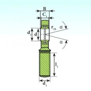 15 mm x 26 mm x 12 mm  15 mm x 26 mm x 12 mm  ISB SA 15 ES plain bearings