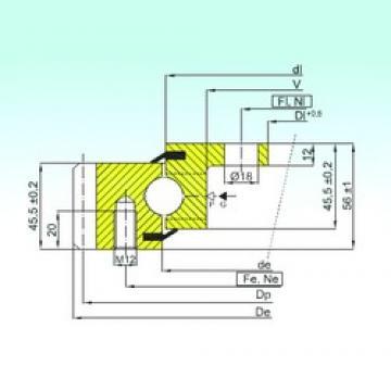 ISB EBL.20.1094.200-1STPN thrust ball bearings