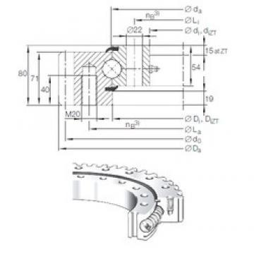 INA VSA 25 1055 N thrust ball bearings