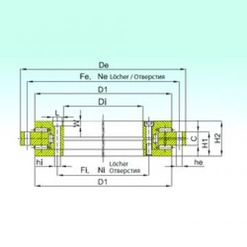 ISB YRTS 260 thrust roller bearings