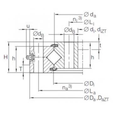 INA XU 12 0179 thrust roller bearings