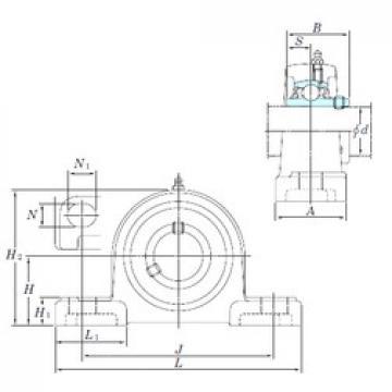 KOYO UCP215-47SC bearing units