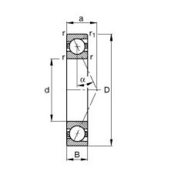 20 mm x 52 mm x 15 mm  NTN 6304  Angular Contact Ball Bearings