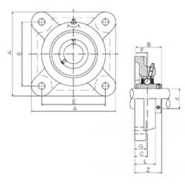 ISO UCF212 bearing units