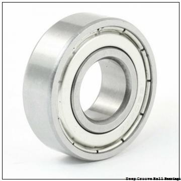 63,5 mm x 127 mm x 23,8125 mm  63,5 mm x 127 mm x 23,8125 mm  RHP LJ2.1/2-NR deep groove ball bearings