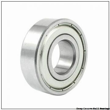 3,175 mm x 6,35 mm x 2,779 mm  3,175 mm x 6,35 mm x 2,779 mm  SKF D/W R144-2Z deep groove ball bearings