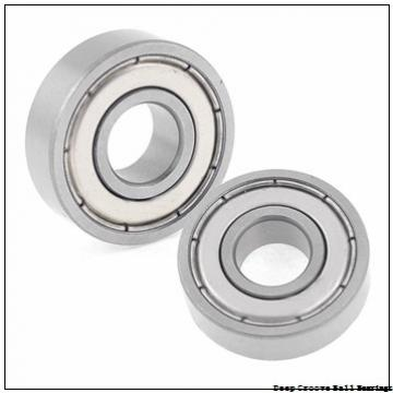1,5 mm x 6 mm x 3 mm  1,5 mm x 6 mm x 3 mm  NSK 601 XZZ deep groove ball bearings