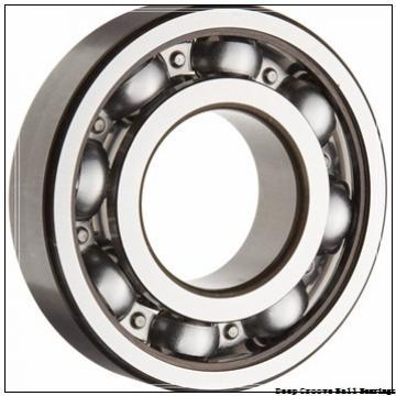 30 mm x 62 mm x 16 mm  30 mm x 62 mm x 16 mm  NKE 6206-N deep groove ball bearings