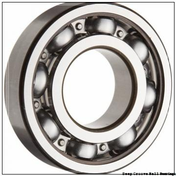 Toyana 1680208 deep groove ball bearings