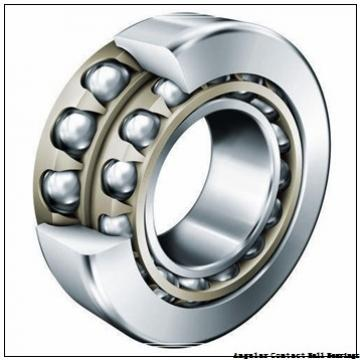 55 mm x 140 mm x 33 mm  55 mm x 140 mm x 33 mm  SKF 7411 BM angular contact ball bearings