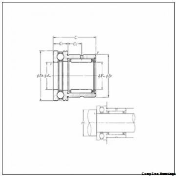40 mm x 75 mm x 11 mm  40 mm x 75 mm x 11 mm  NBS ZARN 4075 TN complex bearings