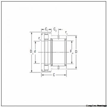 25 mm x 57 mm x 10 mm  25 mm x 57 mm x 10 mm  INA ZARN2557-TV complex bearings