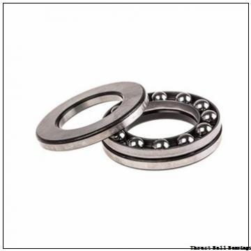 30 mm x 62 mm x 16 mm  30 mm x 62 mm x 16 mm  SKF NJ 206 ECML thrust ball bearings
