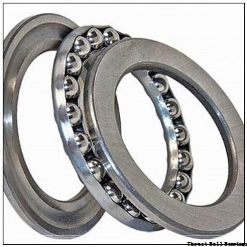 40 mm x 80 mm x 18 mm  40 mm x 80 mm x 18 mm  SKF NJ 208 ECP thrust ball bearings