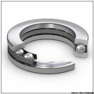 85 mm x 150 mm x 28 mm  85 mm x 150 mm x 28 mm  SKF NJ 217 ECP thrust ball bearings