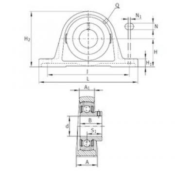 INA PAKY1-1/2 bearing units