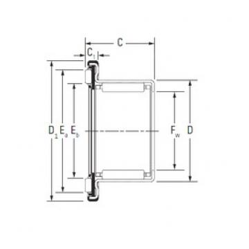 KOYO RAX 705 complex bearings
