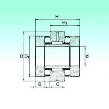 50 mm x 110 mm x 17,5 mm  NBS ZARN 50110 TN complex bearings