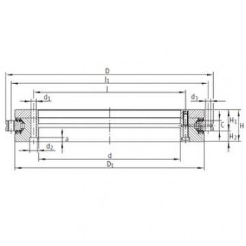 INA YRTS325 complex bearings
