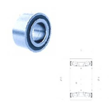 30 mm x 60,03 mm x 37 mm  PFI PW30600337CS angular contact ball bearings