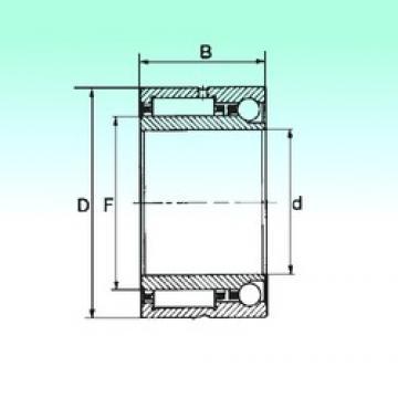 50 mm x 72 mm x 30 mm  NBS NKIA 5910 complex bearings