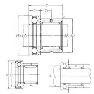 NTN NKX50Z complex bearings