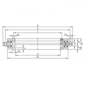INA YRT395 complex bearings