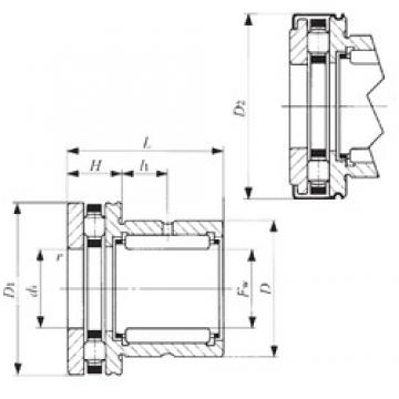 IKO NBX 2530Z complex bearings