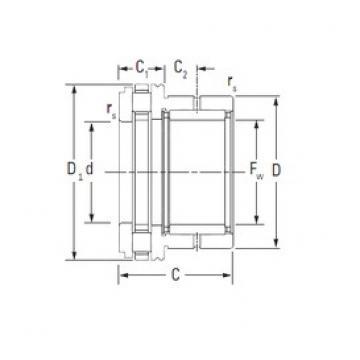 Timken NAXR25TN complex bearings