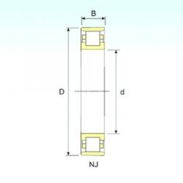 90 mm x 160 mm x 30 mm  90 mm x 160 mm x 30 mm  ISB N 218 cylindrical roller bearings