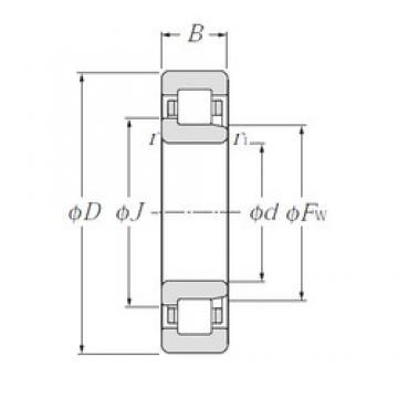 45 mm x 120 mm x 29 mm  45 mm x 120 mm x 29 mm  NTN NJ409 cylindrical roller bearings