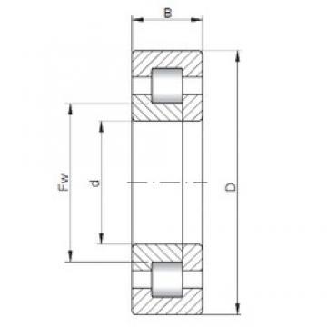 150 mm x 320 mm x 65 mm  150 mm x 320 mm x 65 mm  ISO NUP330 cylindrical roller bearings