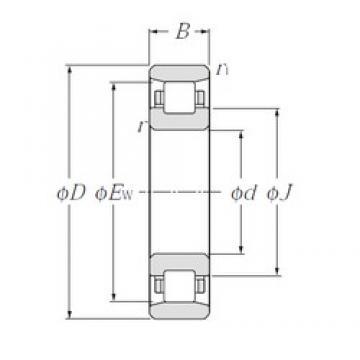 20 mm x 42 mm x 12 mm  20 mm x 42 mm x 12 mm  CYSD N1004 cylindrical roller bearings