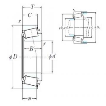 177,8 mm x 320,675 mm x 85,725 mm  177,8 mm x 320,675 mm x 85,725 mm  NSK H239640/H239612 cylindrical roller bearings