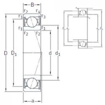 20 mm x 37 mm x 9 mm  20 mm x 37 mm x 9 mm  SNFA VEB 20 /S 7CE1 angular contact ball bearings