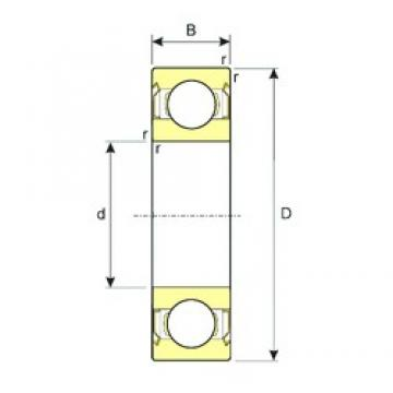 60 mm x 78 mm x 10 mm  60 mm x 78 mm x 10 mm  ISB SS 61812-ZZ deep groove ball bearings