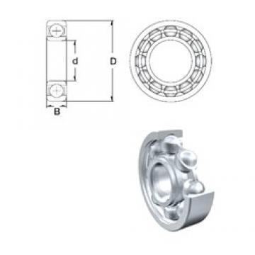 50 mm x 80 mm x 16 mm  50 mm x 80 mm x 16 mm  ZEN S6010 deep groove ball bearings