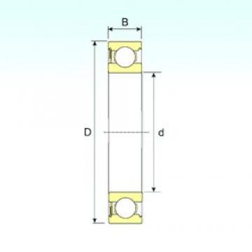 17 mm x 47 mm x 14 mm  17 mm x 47 mm x 14 mm  ISB 6303-RS deep groove ball bearings