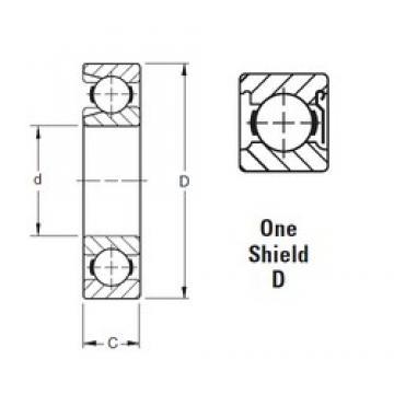 55 mm x 100 mm x 21 mm  55 mm x 100 mm x 21 mm  Timken 211WD deep groove ball bearings