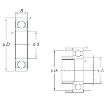 50 mm x 72 mm x 12 mm  50 mm x 72 mm x 12 mm  KOYO 6910 deep groove ball bearings