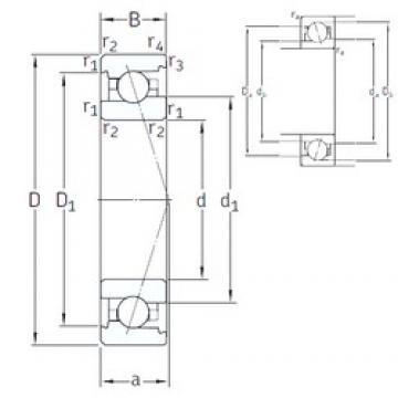 12 mm x 28 mm x 8 mm  12 mm x 28 mm x 8 mm  SNFA VEX 12 /NS 7CE1 angular contact ball bearings